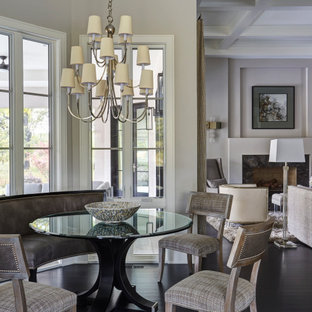 Breakfast Room with Curved Bench Seating