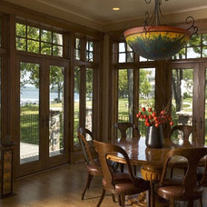 Traditional Dining Room by Orren Pickell Building Group