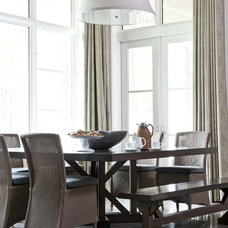 Traditional Dining Room by Wolfe Rizor Interiors