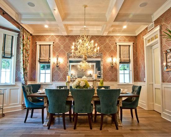 dining room roman shades | houzz