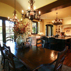 Traditional Dining Room by Brent Gibson Classic Home Design