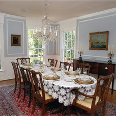 Traditional Dining Room by Spencer Howard Design + Construction Management