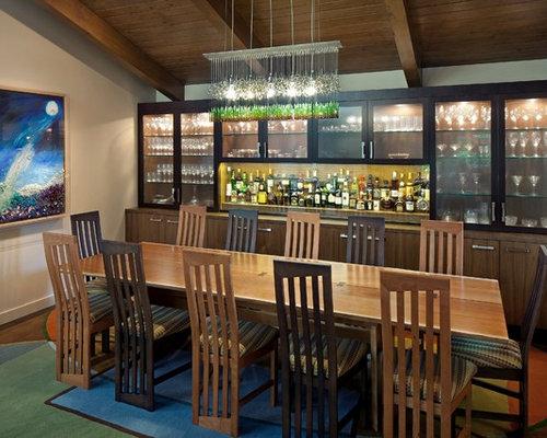 Modern Walnut Dining Table | Houzz