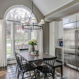 75 Beautiful Gray Dining Room Pictures Ideas February 2021 Houzz