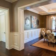 Traditional Dining Room by P2 Design