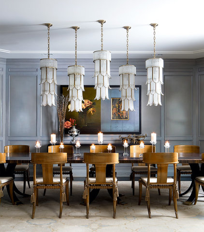 Traditional Dining Room by Brandon Barré Architectural Interior Photographer