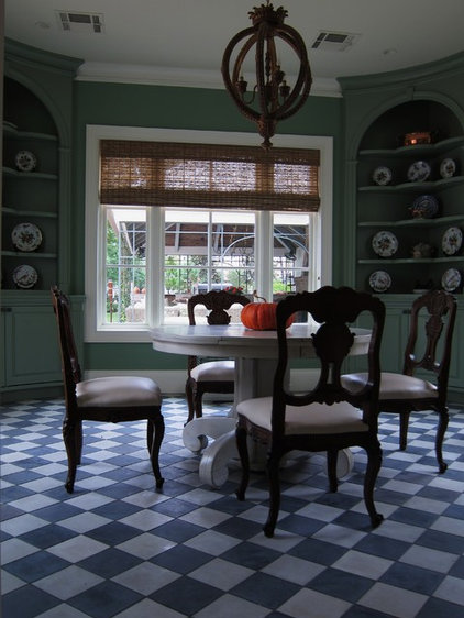 Traditional Dining Room by UrbanCraft Custom Builders, LP