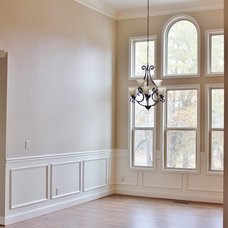 Transitional Dining Room by Curtis White Companies