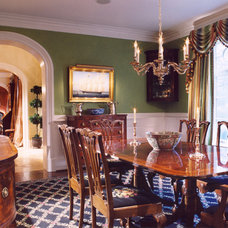 Traditional Dining Room by E. B. Mahoney Builders, Inc.