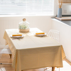 Beach Style Dining Room by Brick House Goods