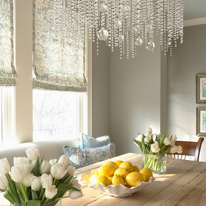 eclectic dining room by Martha O'Hara Interiors