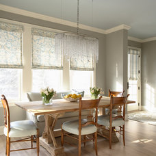 farmhouse dining room by Martha O'Hara Interiors