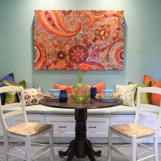 Traditional Dining Room by Karen Garlanger Designs, LLC
