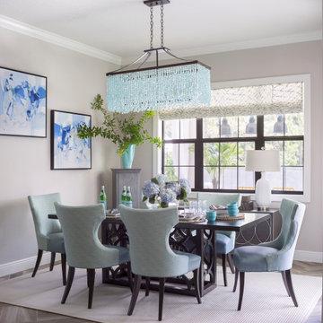 Bright and Sunny Breakfast Room