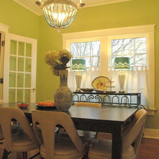 Eclectic Dining Room by Kristie Barnett, The Decorologist