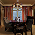 1880s Brownstone Traditional Dining Room New York