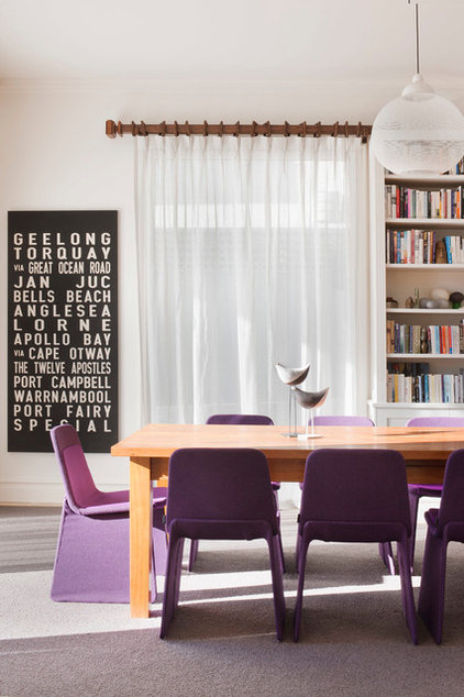 Contemporary Dining Room by Chan Architecture Pty Ltd