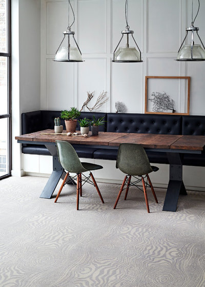 Transitional Dining Room by Brintons Carpets