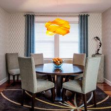 Contemporary Dining Room by Jason Ball Interiors, LLC
