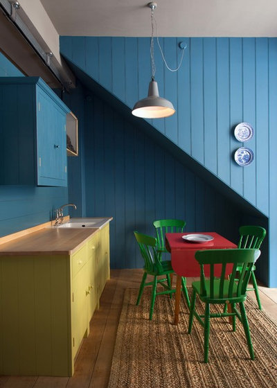 Eclectic Dining Room by British Standard by Plain English