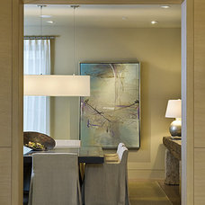 Contemporary Dining Room by Pacific Peninsula Group