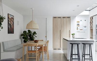 22 Beautiful White and Wood Kitchens