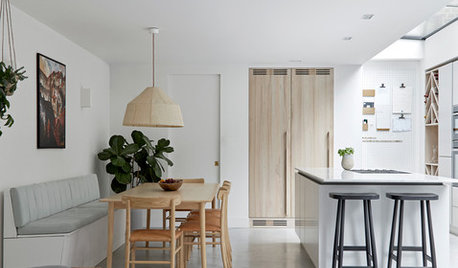 London Houzz Tour: Natural Finishes Add Texture to a Minimal Home