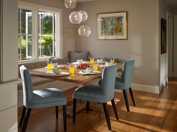 Transitional Dining Room by Knickerbocker Group