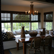 Traditional Dining Room by jlynnrunde