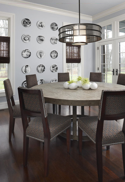 contemporary dining room by AMW Design Studio