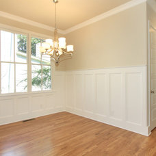 Craftsman Dining Room by Kevin Aycock Homes