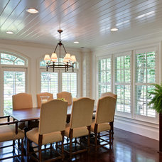 Traditional Dining Room by Blake Shaw Homes, Inc
