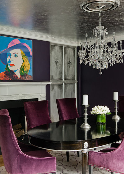 Traditional Dining Room by Kristine Mullaney Design, LLC
