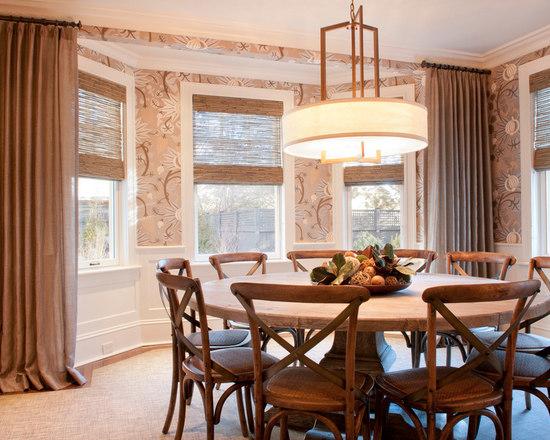 circular dining table | houzz
