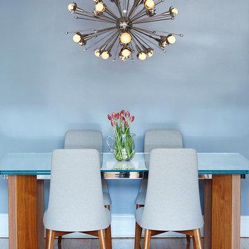Brooklyn Heights 3 Bedroom Apartment – Interior Design Dining Room