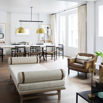 Brooklyn Heights Sitting Area and Dining Room