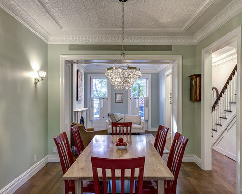 Townhouse Dining Room Home Design Ideas Pictures Remodel