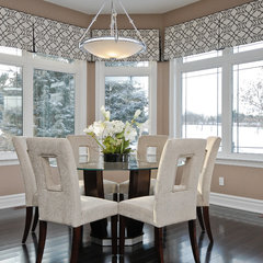 contemporary dining room by Kiya Developments Ltd.