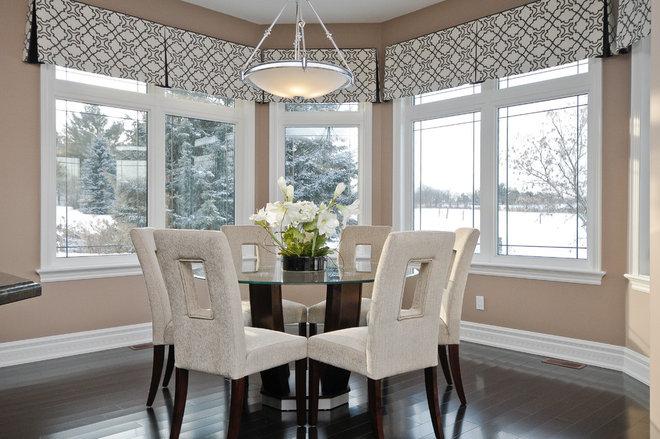 Contemporary Dining Room by Kiya Developments Ltd.