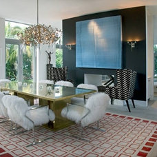Contemporary Dining Room by BROWN DAVIS INTERIORS, INC.