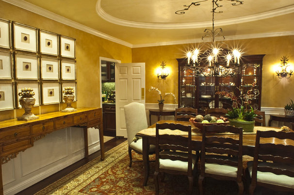 Traditional Dining Room by Brownhouse Design, Los Altos, CA