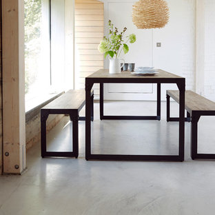 Brunel Industrial Dining Bench Seating