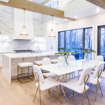 Contemporary Dining Room by Cambria