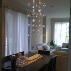 contemporary dining room by Premiere Lights