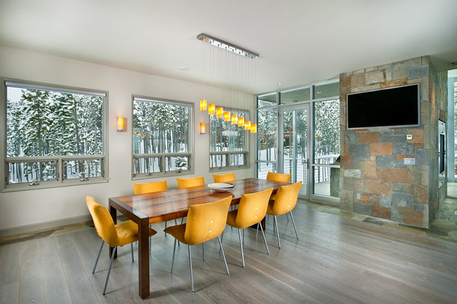 contemporary dining room by New Mood Design LLC