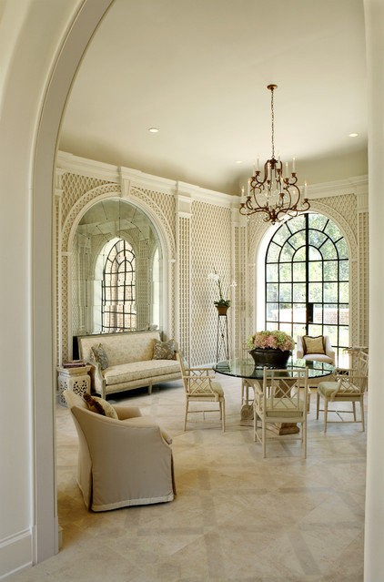 Traditional Dining Room by Dillard Pierce Design Associates