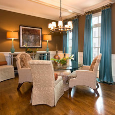 Traditional Dining Room by Decorating Den Interiors --The Sisters & Company