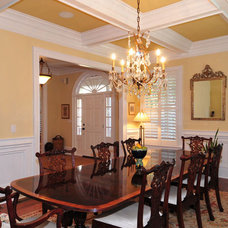Traditional Dining Room by NEOCLASSICAL BUILDERS, llc