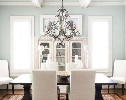 Transitional chandeliers dining room design ideas renovations photos - Transitional dining room chandeliers ideas ...