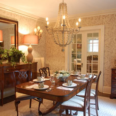 Traditional Dining Room by Cindy Lynn Dunaway Interiors